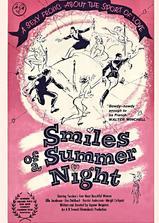 夏夜的微笑海报