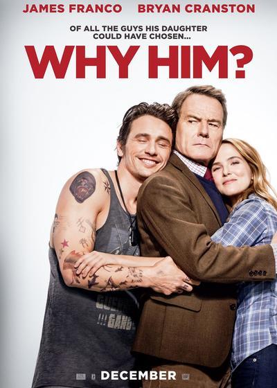 为什么是他?海报