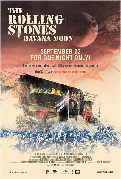 滚石乐队:哈瓦那月圆夜