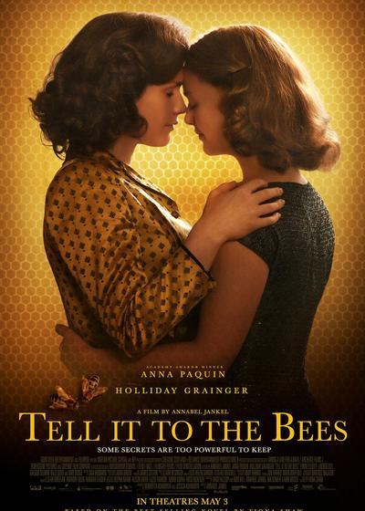告诉蜜蜂海报