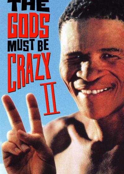 上帝也疯狂2海报