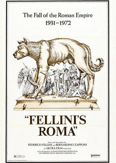 罗马风情画海报