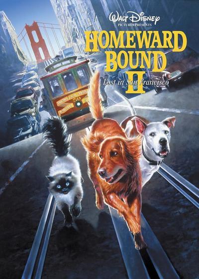 看狗在说话之旧金山历险记海报