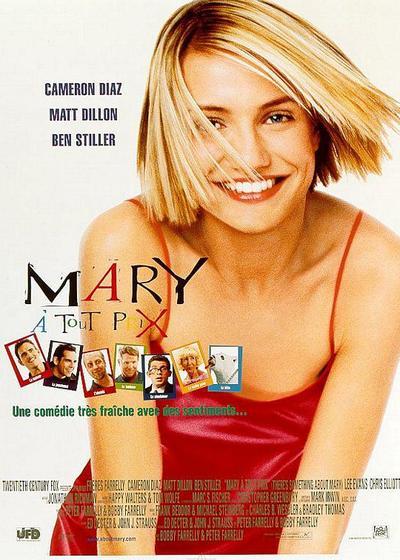 我为玛丽狂海报