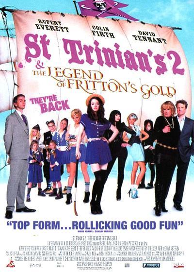 新乌龙女校2:弗里顿的黄金的传奇海报