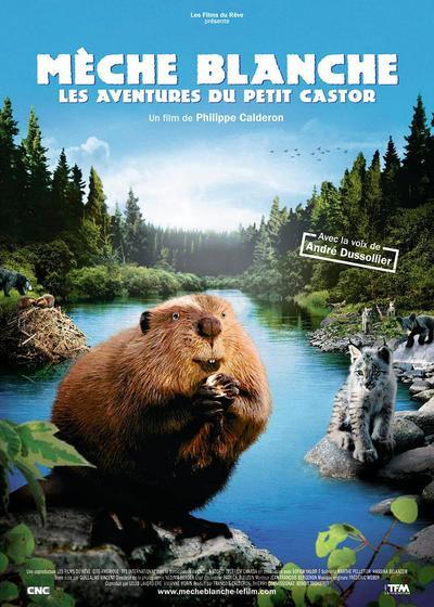 河狸白毛历险记海报