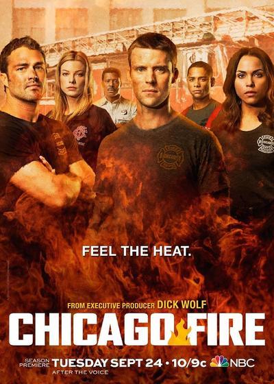 芝加哥烈焰 第二季海报