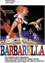 太空英雌芭芭丽娜海报