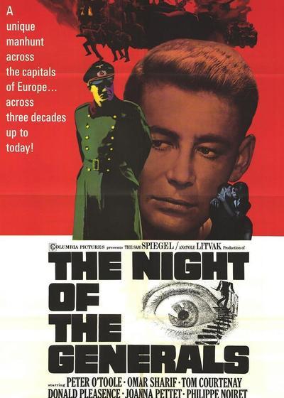 将军之夜海报