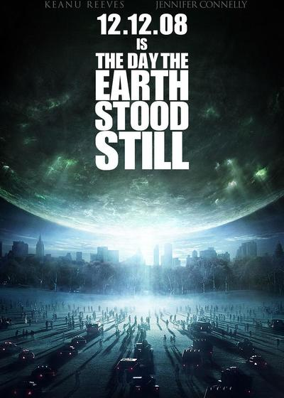 地球停转之日海报