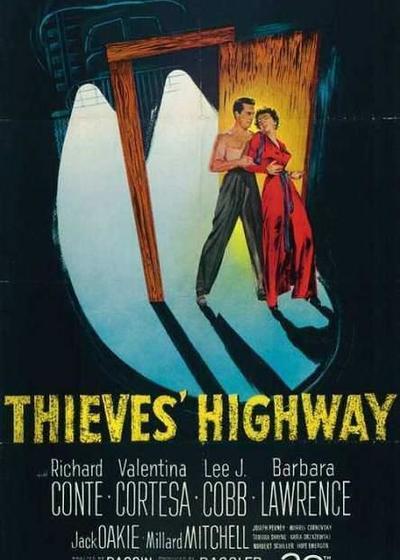 贼之高速公路海报