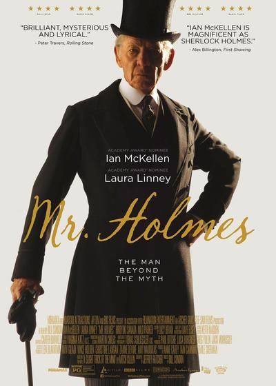 福尔摩斯先生海报