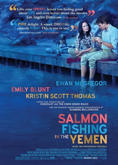 到也门钓鲑鱼海报