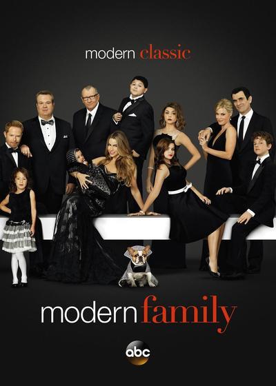 摩登家庭 第五季海报