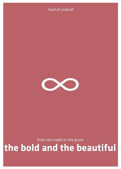 大胆而美丽海报