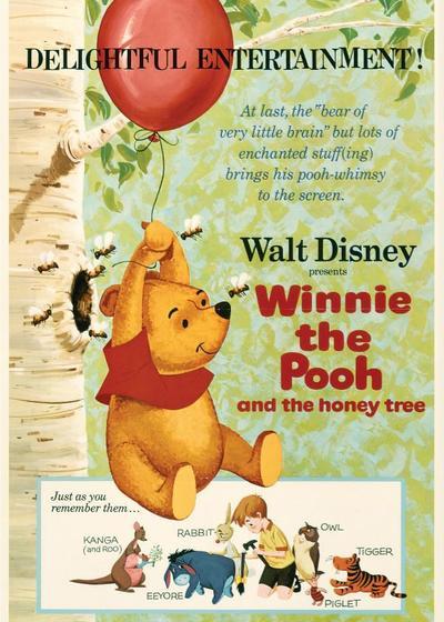 小熊维尼和蜂蜜树海报