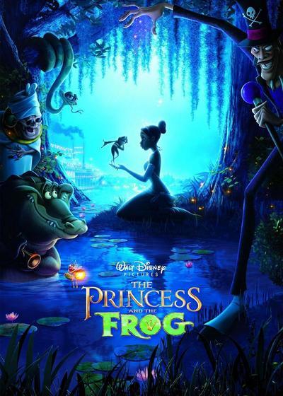 公主与青蛙海报