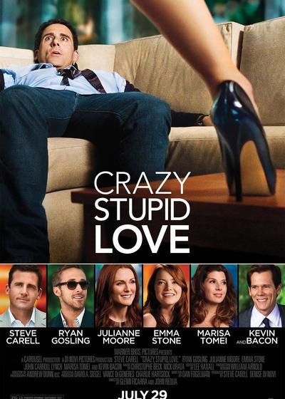 疯狂愚蠢的爱海报