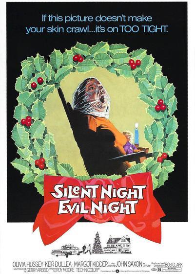 黑色圣诞节海报
