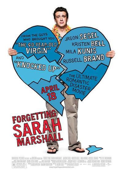 忘掉莎拉·马歇尔海报