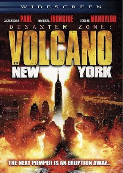 灾难地带:纽约火山海报