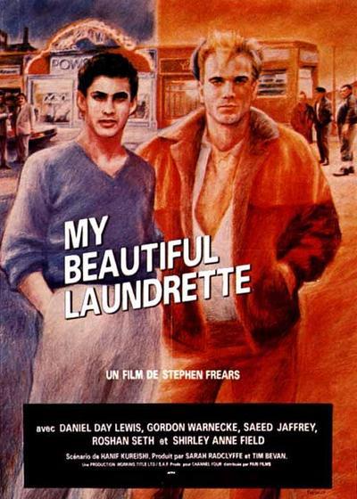 我美丽的洗衣店海报