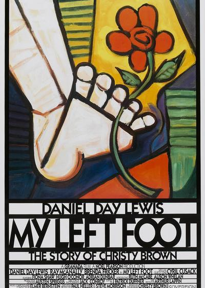 我的左脚海报