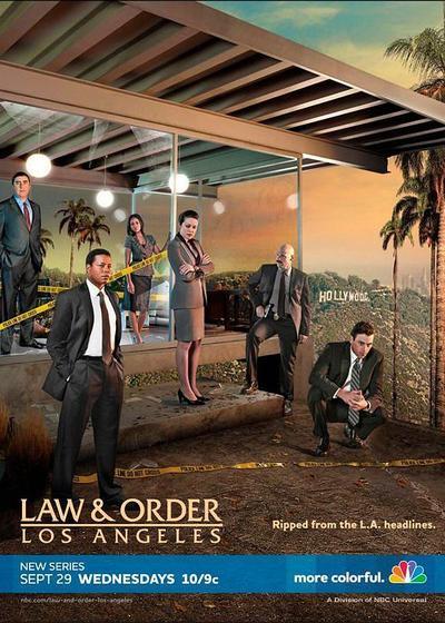 法律与秩序:洛杉矶海报