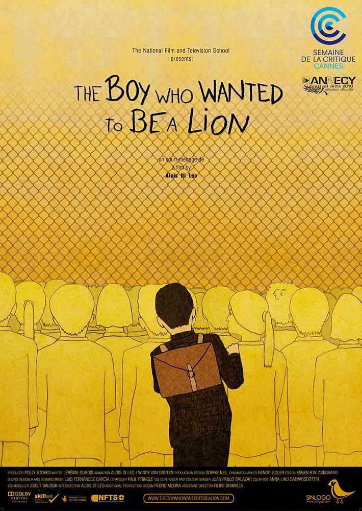 想成为狮子的男孩