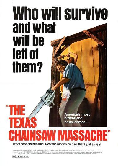 德州电锯杀人狂海报
