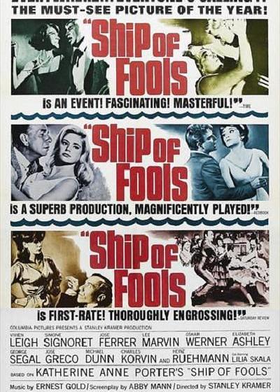 愚人船海报
