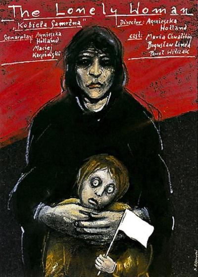 一个孤独的女人海报