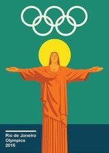 2016年第31届里约热内卢奥运会开幕式海报