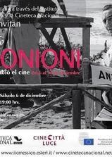 安东尼奥尼:拥有改变电影界的眼睛海报