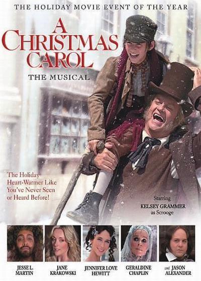 圣诞颂歌海报