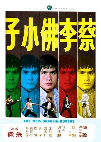 蔡李佛小子海报