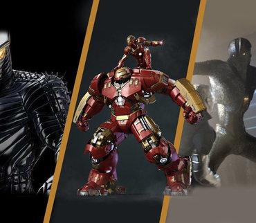 漫威宇宙十大战甲,钢铁战甲只排第四,第一能单挑天神组