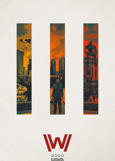 西部世界 第三季海报