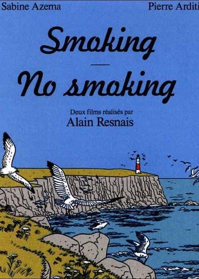吸烟/不吸烟海报