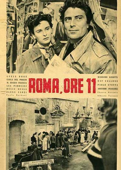 罗马11时海报