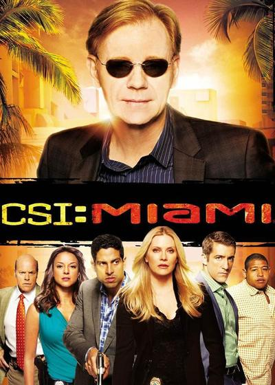 犯罪现场调查:迈阿密 第八季海报