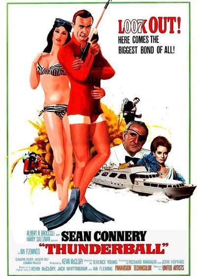 007之霹雳弹海报