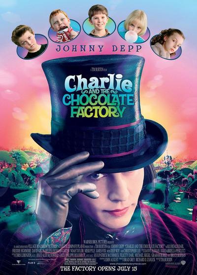 查理和巧克力工厂海报