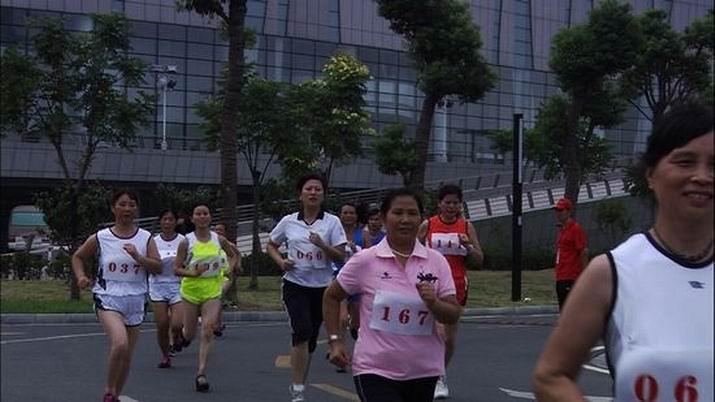 跑吧,马晓翠
