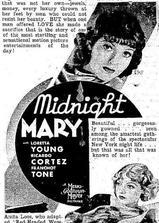 午夜玛丽海报