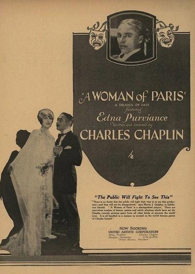 巴黎一妇人海报