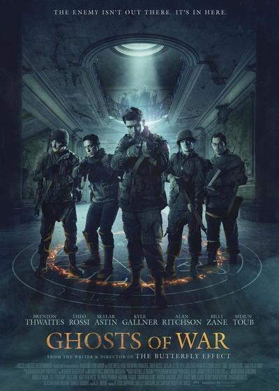 战争幽灵海报
