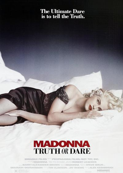 与麦当娜同床海报