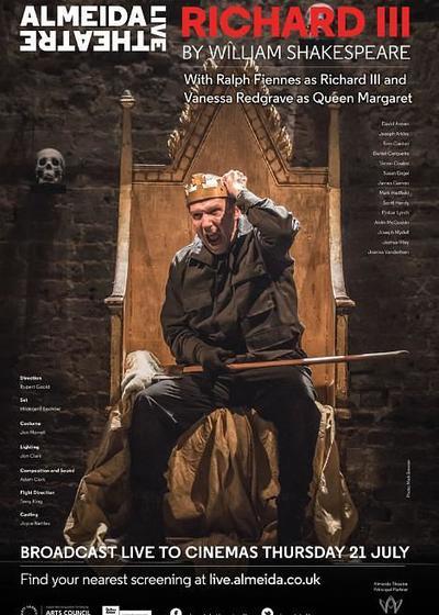 阿尔梅达剧院现场:理查三世海报