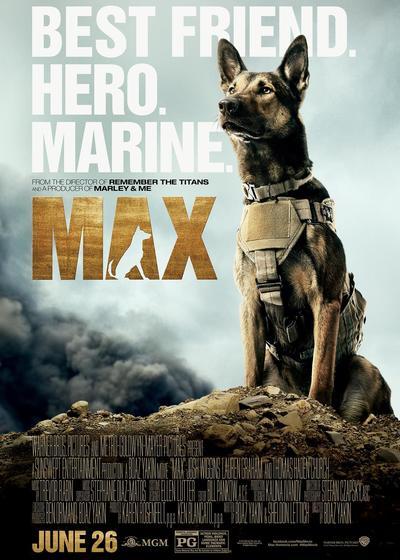 军犬麦克斯海报